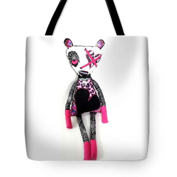 Tabitha The Zombie Babysitter  Tote Bag by Oddball Art Co by Lizzy Love