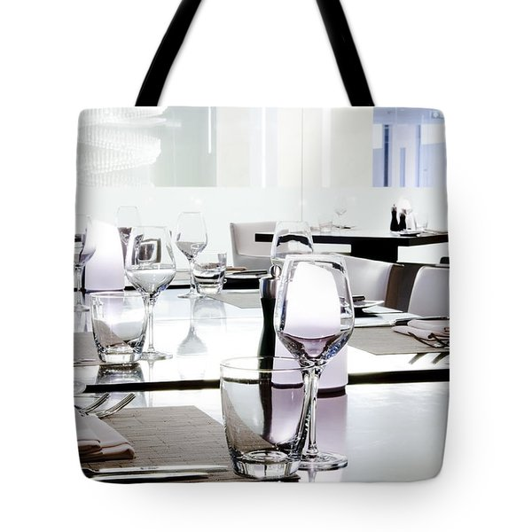Table Setting Tote Bag by Setsiri Silapasuwanchai