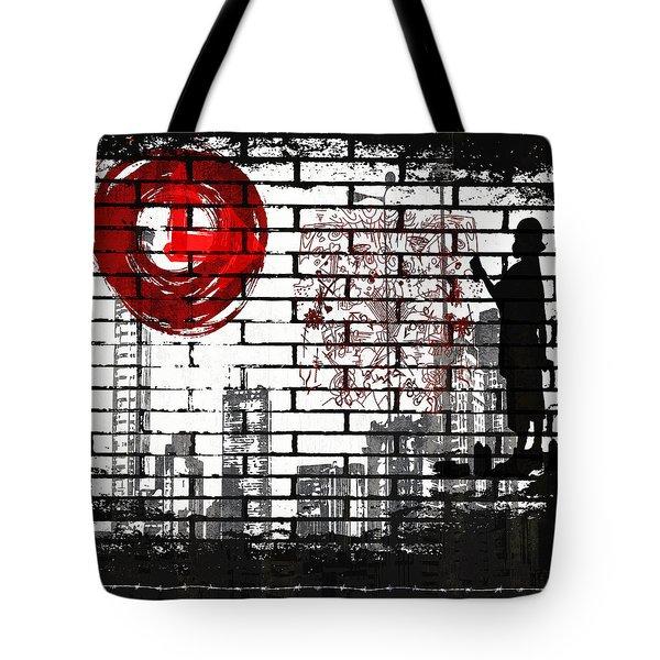 Tag Tote Bag by Angelina Vick