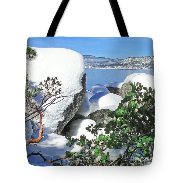 Tahoe Near And Far Tote Bag
