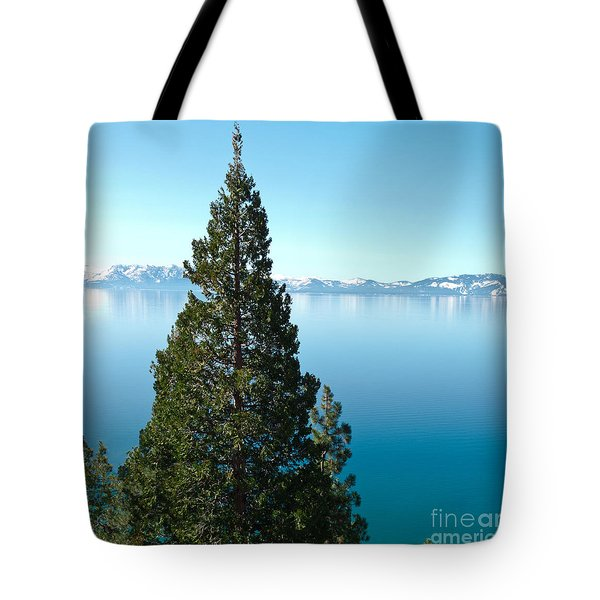 Tahoe Tranquility Tote Bag