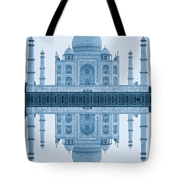 Tote Bag featuring the photograph Taj Mahal by Luciano Mortula