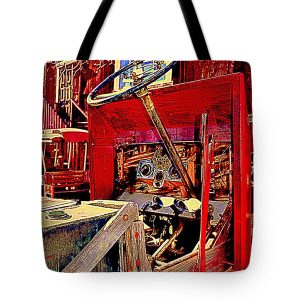 Take The Wheel Please Tote Bag