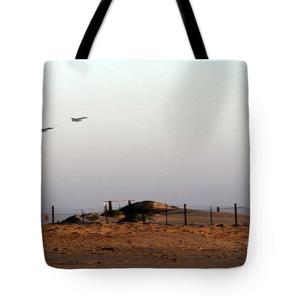 Takeoff Tote Bag