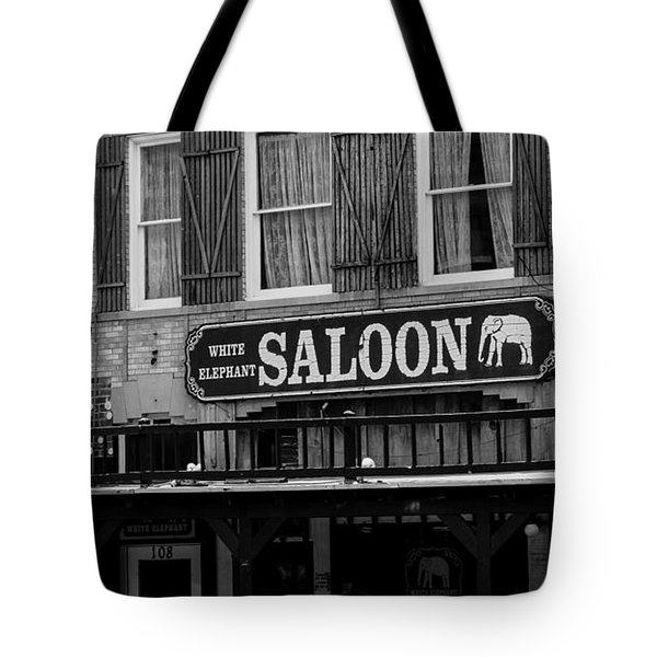 Taking A Break At The Old Watering Hole Tote Bag