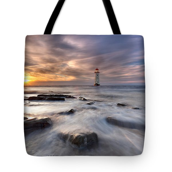 Talacre Lighthouse  Tote Bag