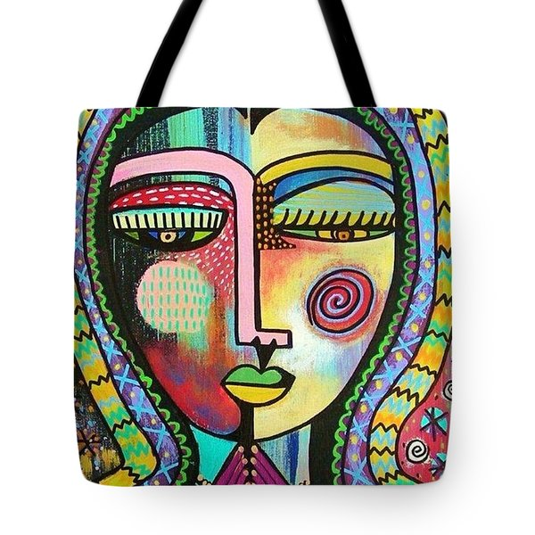 -talavera Virgin Of Guadalupe Protection Tote Bag