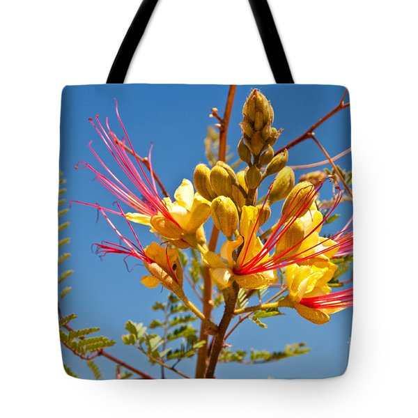 Tall And Bright Tote Bag by Bob and Nancy Kendrick