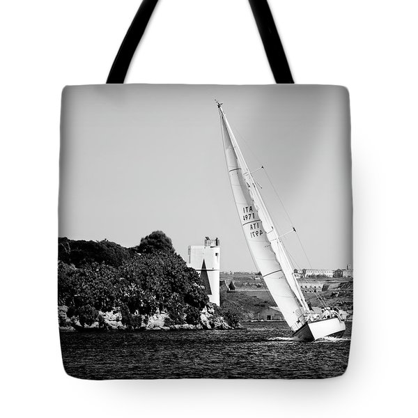Tote Bag featuring the photograph Tall Ship Race 1 by Pedro Cardona