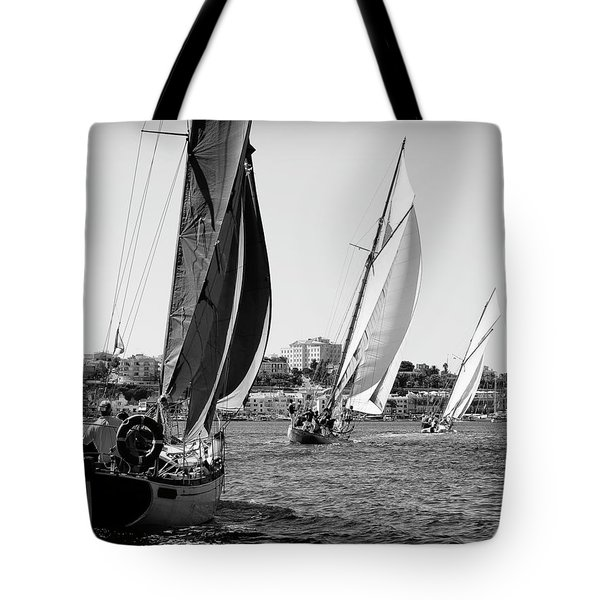 Tote Bag featuring the photograph Tall Ship Races 2 by Pedro Cardona