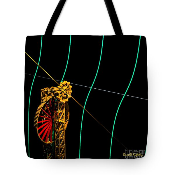 Tangent Graph Math Engine Tote Bag