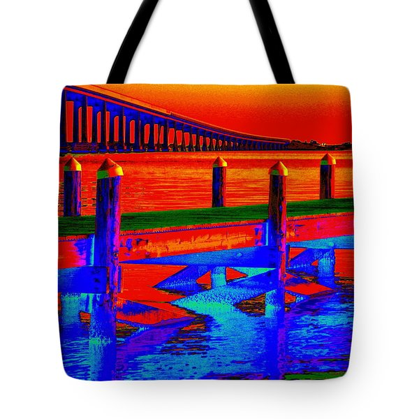 Tangerine Sound Tote Bag
