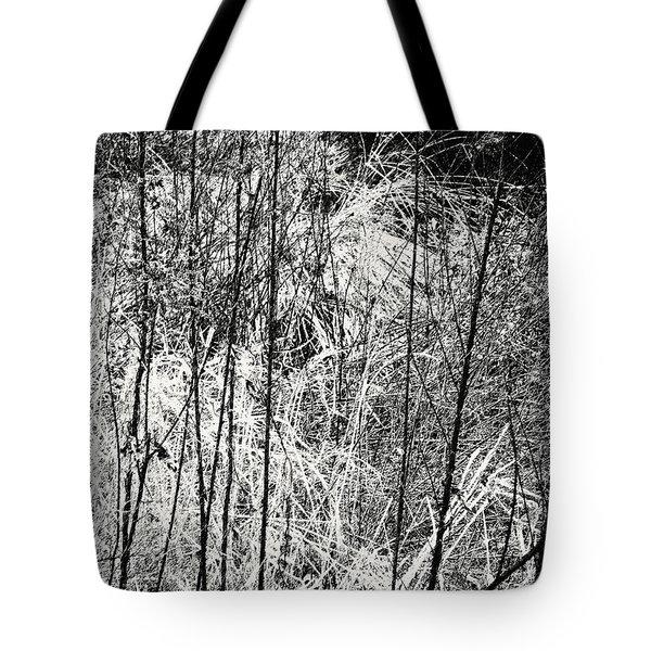 Tangled Weeds 2 Tote Bag
