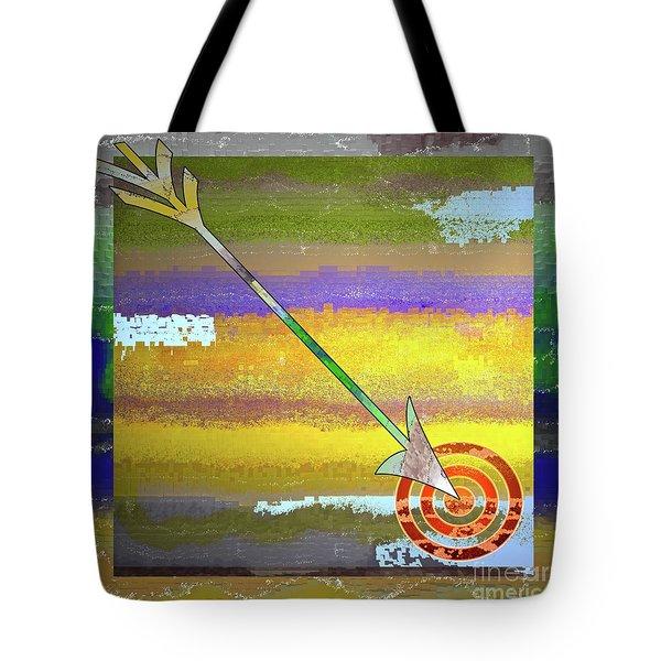 Target Tote Bag by Gwyn Newcombe