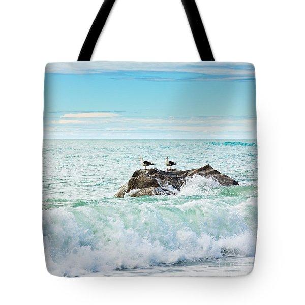 Tasman Sea Tote Bag by MotHaiBaPhoto Prints
