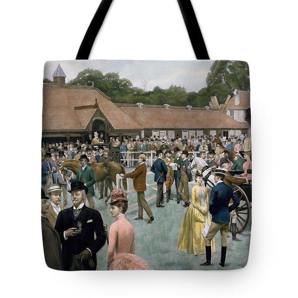 Tattersall's Newmarket Pub Tote Bag by Isaac J Cullin and I P Mendoza