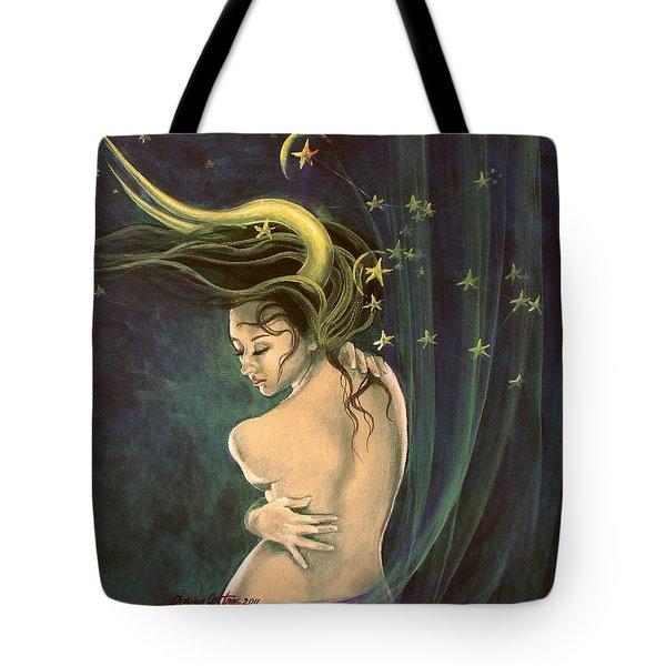Taurus From Zodiac Series Tote Bag by Dorina  Costras