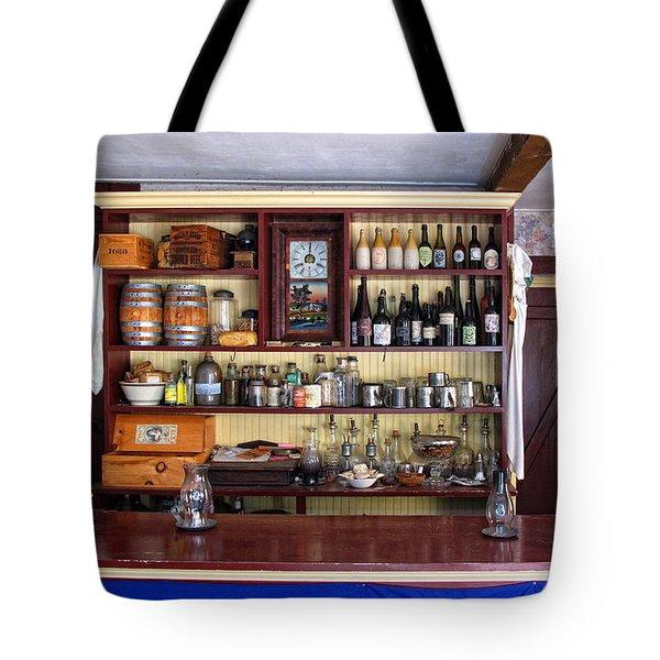 Tavern Civil War Era Tote Bag by Dave Mills