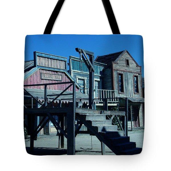 Taverna Western Village In Spain Tote Bag