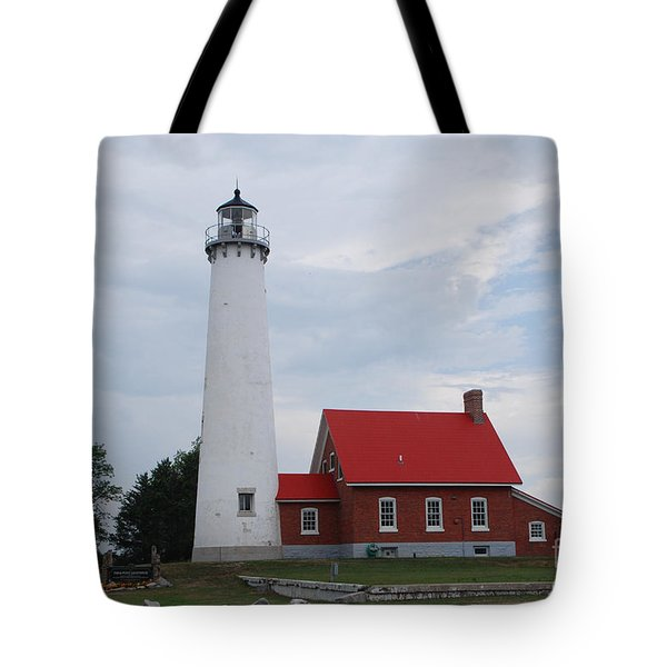 Tawas Point Lighthouse Tote Bag
