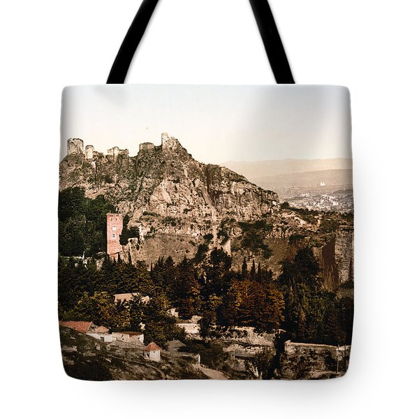 Tbilisi  Georgia - Botanical Gardens Tote Bag by International  Images