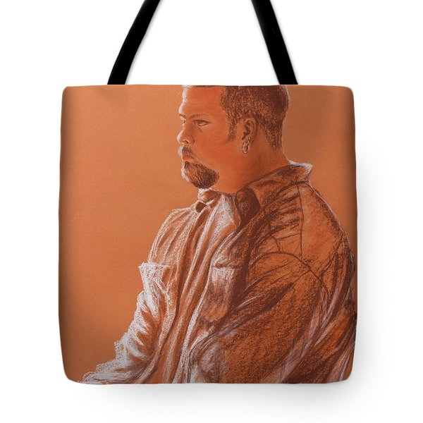 Teacher's Son Tote Bag by Kume Bryant