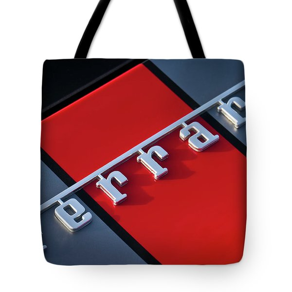 Team Ferrari Tote Bag