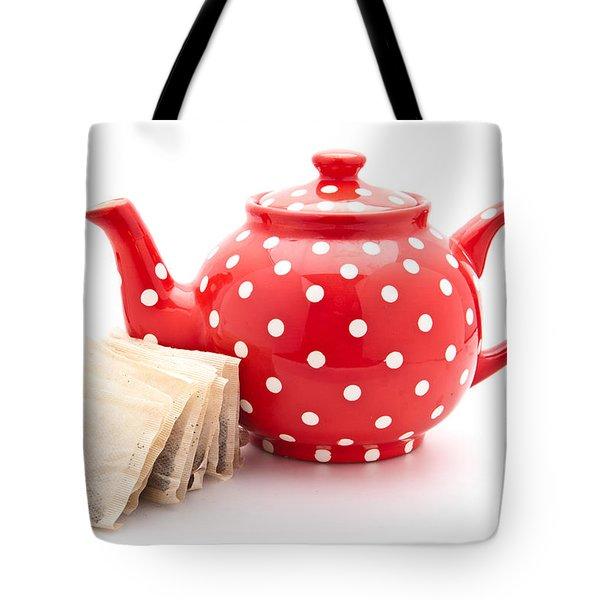 Teapot Tote Bag by Tom Gowanlock