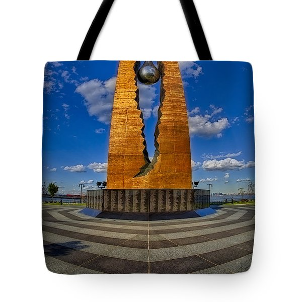 Teardrop Memorial Tote Bag by Susan Candelario