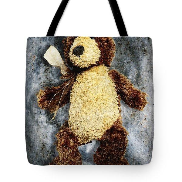 Teddy Bear Tote Bag by Skip Nall