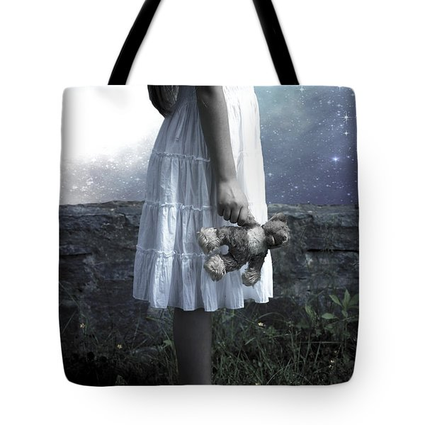 Teddy Tote Bag by Joana Kruse