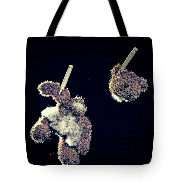 Teddy Without Head Tote Bag