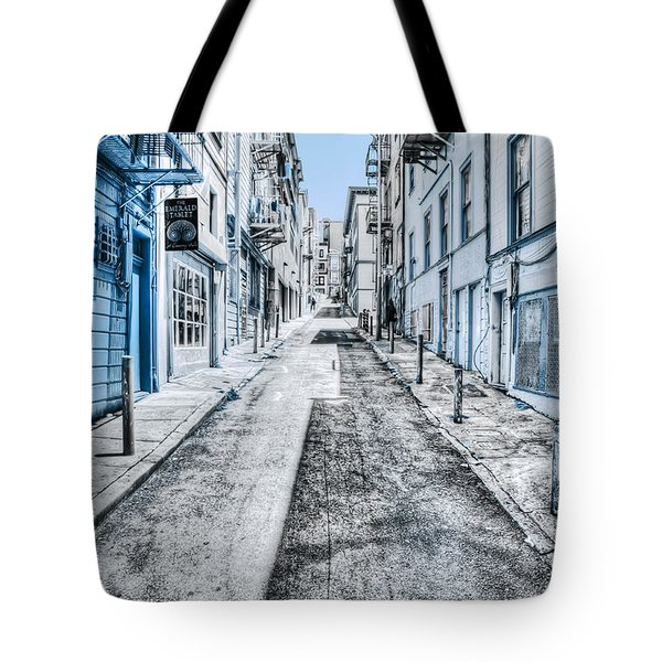 Telegraph Hill Blue Tote Bag