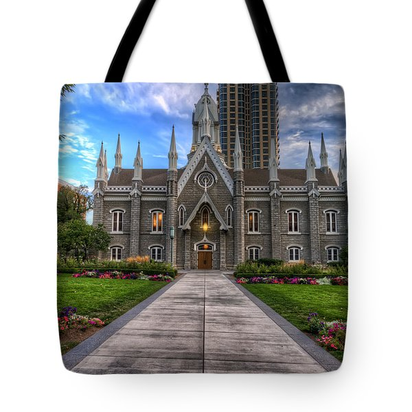 Temple Square Assembly Hall Tote Bag