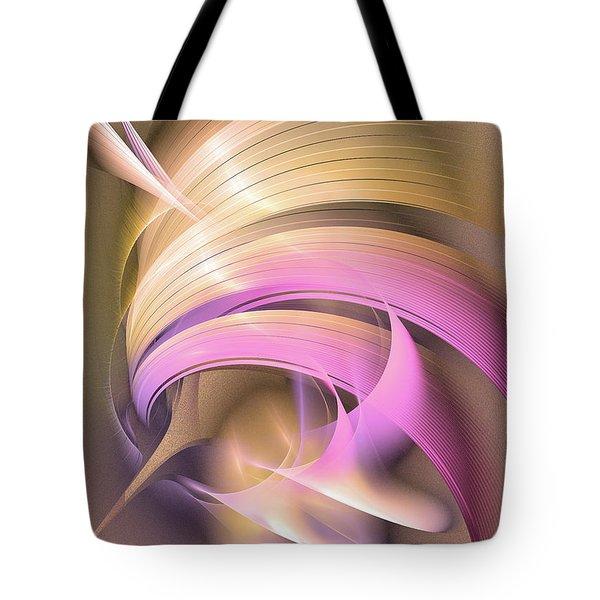 Tempus Rex - Abstract Art Tote Bag
