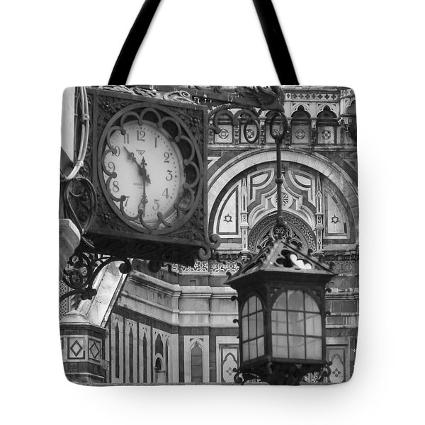 Tote Bag featuring the photograph Ten Thirty by Ramona Johnston