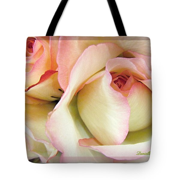 Tenderdly  Rose Tote Bag by Danielle  Parent