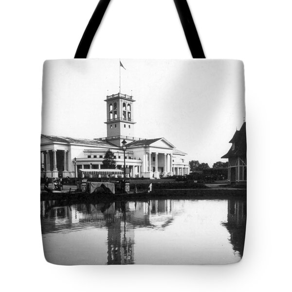 Tennessee Centennial - Nashville - Auditorium - C 1897 Tote Bag by International  Images