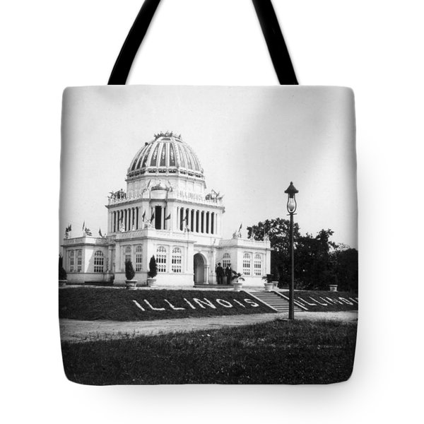 Tennessee Centennial In Nashville - Illinois Building - C 1897 Tote Bag by International  Images