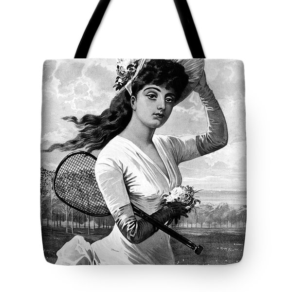 Tennis, 1887 Tote Bag by Granger