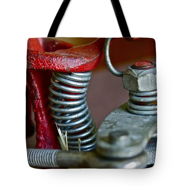 Tension Tote Bag by Bill Owen