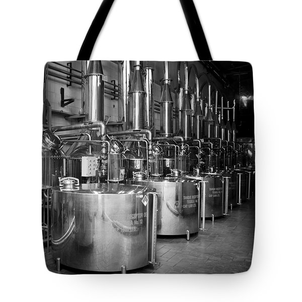 Tequilera S.s. Distillation Tanks Tote Bag by Lynn Palmer