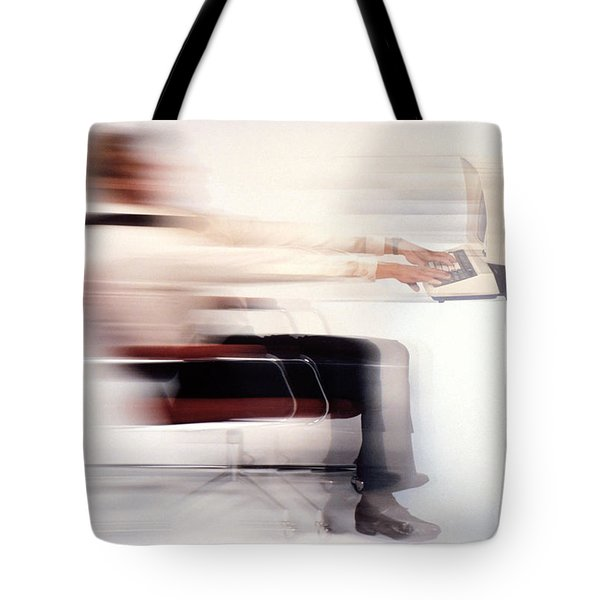 Terminal Speed Tote Bag by Jerry McElroy