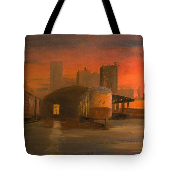 Terminal Transfer Tote Bag by Christopher Jenkins