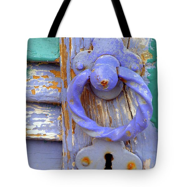 Terrace Door Tote Bag by Lainie Wrightson