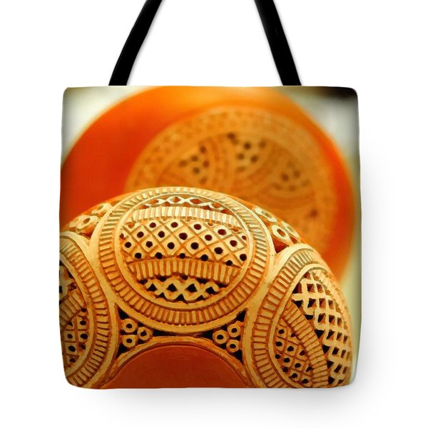 Terracotta Lampshade Tote Bag