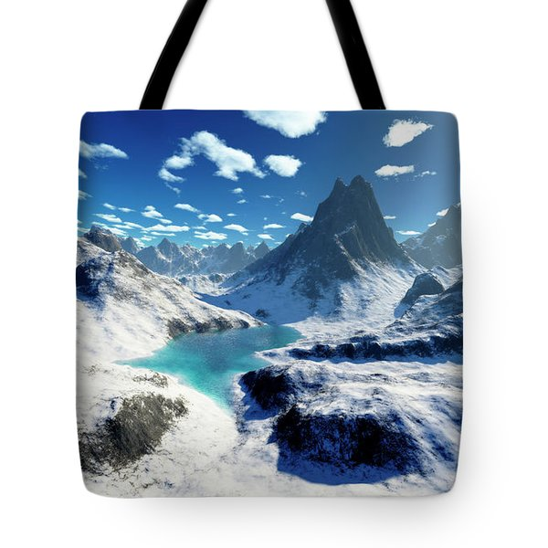 Terragen Render Of An Imaginary Tote Bag by Rhys Taylor