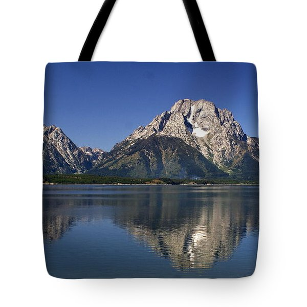 Teton Panoramic View Tote Bag by Marty Koch