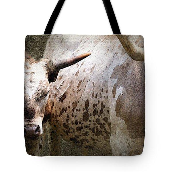 Texas Longhorns Tote Bag by Betty LaRue