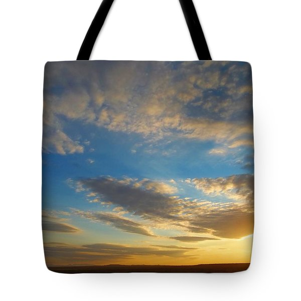 Texas Sized Sunset Tote Bag